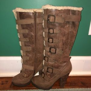 Women's Report fur lined boots
